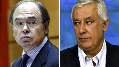 Pío García Escudero y Javier Arenas.