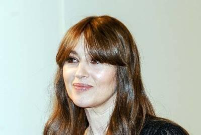 Mónica Bellucci, presenta en Madrid la última película de Emir Kusturica, «En la vía lactea»