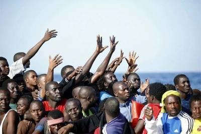 Según la OIM más de 100.000 migrantes han cruzado el Mediterráneo en 2017