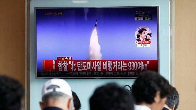 Corea del Norte disparó un misil balístico que cayó en el Mar de Japón