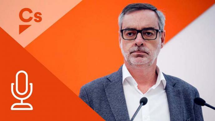 José Manuel Villegas  secretario general de Ciudadanos