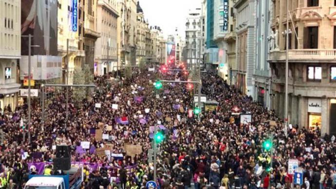 Manifestación del 8-M