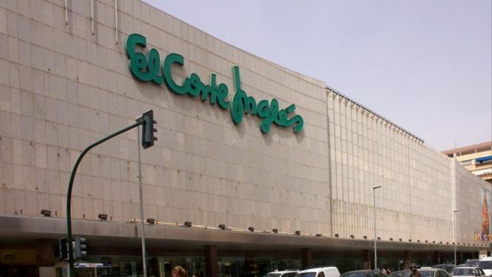 Centro comercial de El Corte Inglés.El Corte Inglés