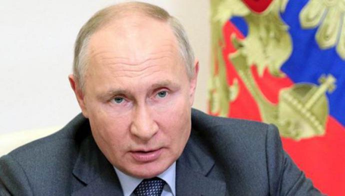 El presidente,Vladimir Putin