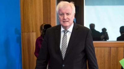 El ministro alemán del Interior, Horst Seehofer