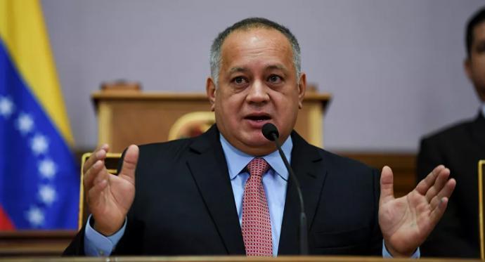 El presidente de la Asamblea Nacional Constituyente (ANC) deVenezuela,Diosdado Cabello
