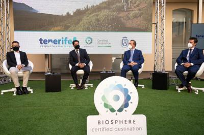 Tenerife recibe la certificación Biosphere, que avala su esfuerzo por la sostenibilidad del destino
