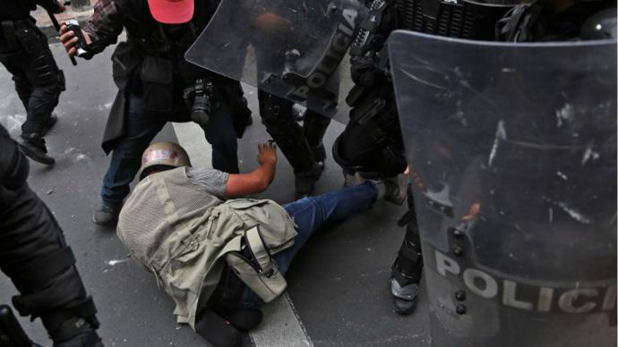 Moreno decreta 'estado de excepción' ante protestas por alza de combustibles