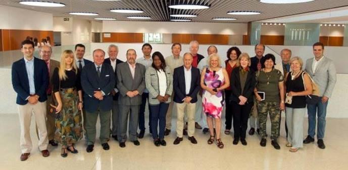 Los corresponsales extranjeros asisten anualmente a la Universidad de Navarra para su actualización periodística