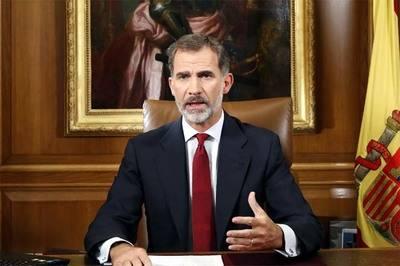Felipe VI llama al Estado a defender orden constitucional en Cataluña