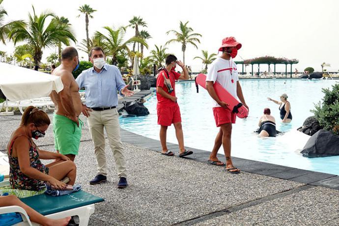 El Parque Marítimo de Santa Cruz de Tenerife ha acogido a 123.575 visitantes en los últimos tres meses