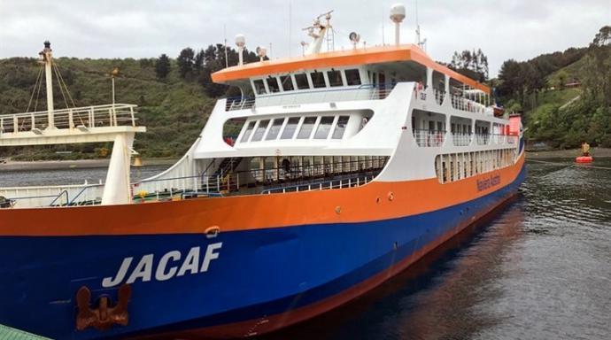 Naviera Austral aumenta servicios marítimos entre Puerto Montt y Chaitén, Chile