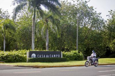 La entrada a Casa de Campo en La Romana, República Dominicana.