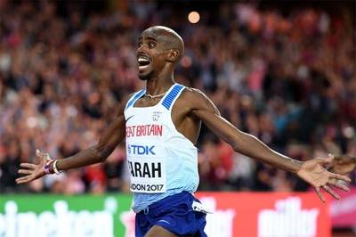 El británico Mo Farah logra la primera medalla de oro del Mundial de atletismo