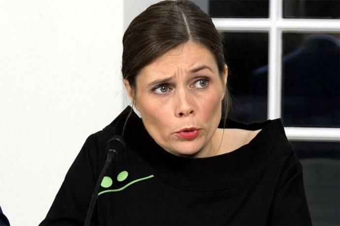 Katrín Jakobsdóttir primera ministra de Islandia