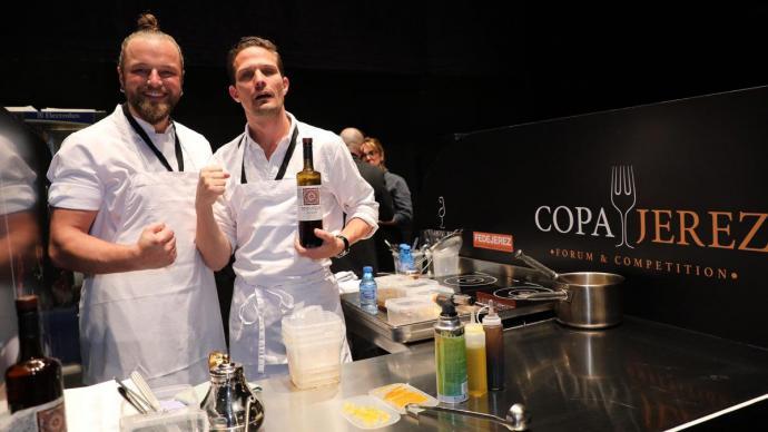 El equipo danés del restaurante Clou de Copenhague, vencedores de la última edición.