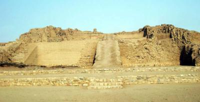 Pirámides de Túcume, el mayor complejo arquitectónico de este tipo en el Antiguo Perú.