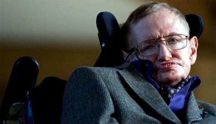 El famoso físico británico Stephen Hawking
