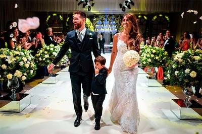 La dedicatoria de Antonella Roccuzzo a Messi tras la boda