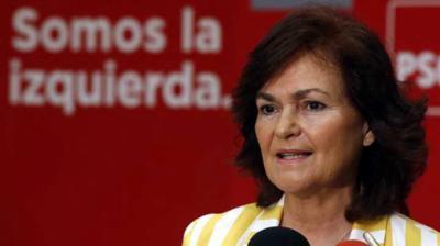 Carmen Calvo será vicepresidenta del Gobierno de Pedro Sánchez