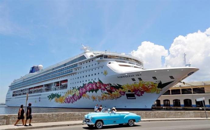 La terminal de cruceros de La Habana (Cuba)