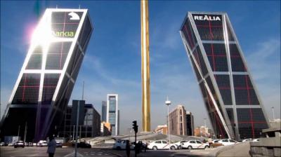 Madrid pasa a Fase 2. En la imagen de referencia, la Plaza de Castilla