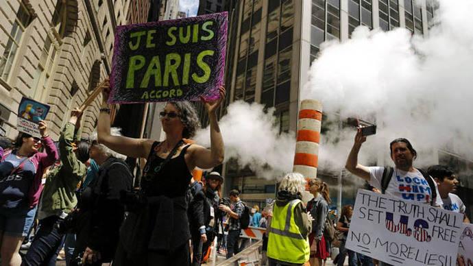 Marchas anti Trump se extienden por todo el planeta