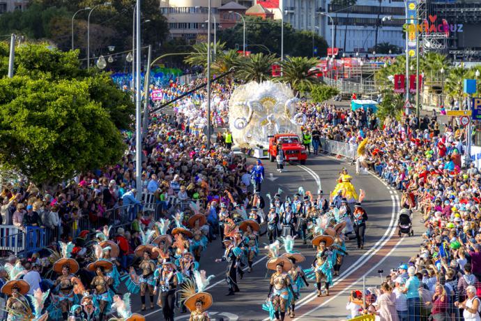 El Carnaval de Santa Cruz de Tenerife vivirá este martes 5, uno de sus actos más tradicionales y concurridos