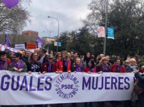 Imagen de Manifestación del 8-M en 2020