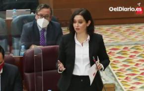 Isabel Díaz Ayuso (captura de pantalla)