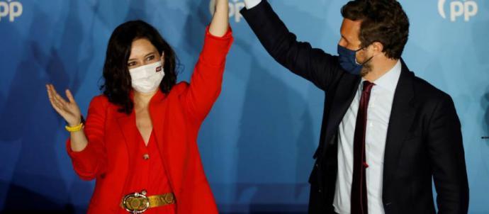 Ayuso, a Sánchez: 'Esa forma de gobernar con opulencia e hipocresía tiene los días contados'