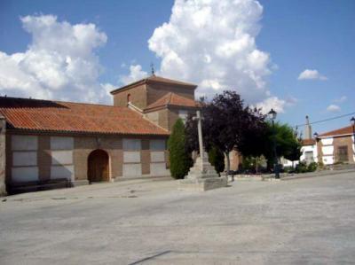 Una vista general de Crespos, provincia de  Ávila