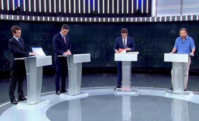 El debate que no fue: los candidatos se 'olvidaron' de la ciencia, el aborto, el colectivo LGTBI o los servicios sociales