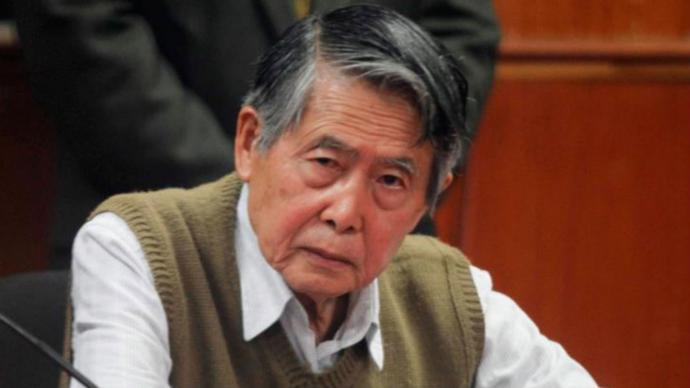 """Fujimori: """"Mi corazón lo lo resistirá..."""""""