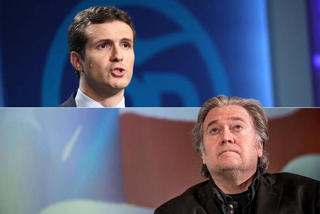 La alianza de extrema derecha que impulsa Steve Bannon en Europa apunta a Pablo Casado