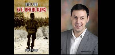 """David L. Cabia, autor de la novela """"La última isla"""", publicada por Afronta Editorial"""