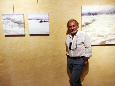 Marnay muestra sus oleos en el Espacio de Arte Contemporáneo de Villapresente
