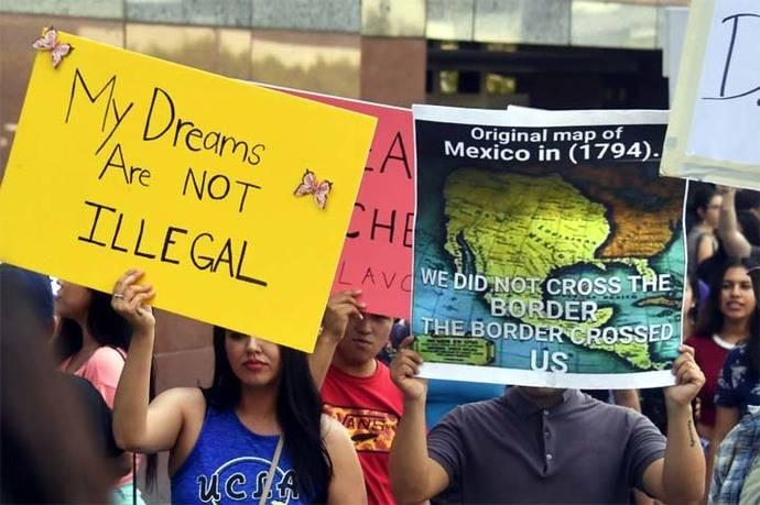 Trump quiere sacar a los soñadores de su país
