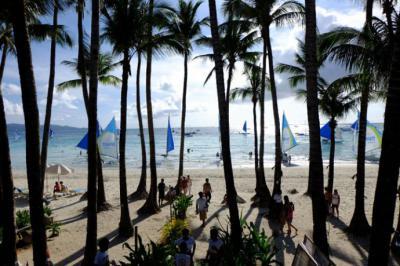 En 2017 la isla Boracay tuvo dos millones de visitantes.