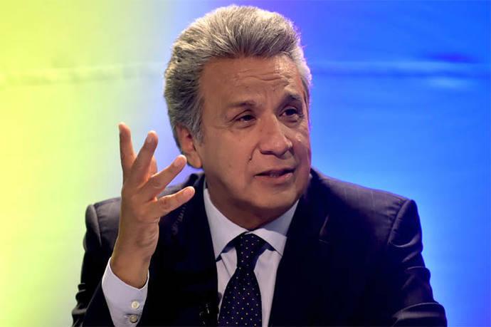 Lenín Moreno, presidente electo de Ecuador, exhorta al diálogo en Venezuela
