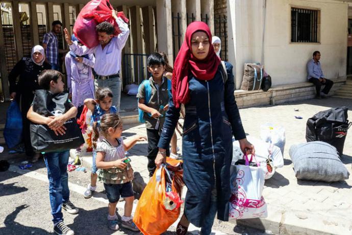 Siria crea comité para el retorno de refugiados