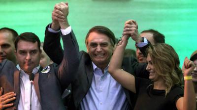 Derechista Jair Bolsonaro elige a polémico general como candidato a vicepresidente de Brasil