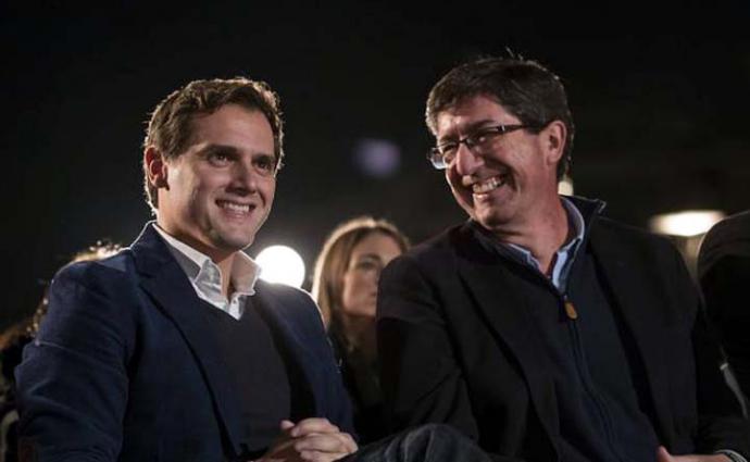 Rivera no descarta pactos con Vox para hacer posible un 'gobierno del cambio' en Andalucía