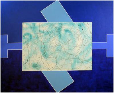 Ilumín Cortázar entre la geometría y el gesto, prepara exposición para 2019