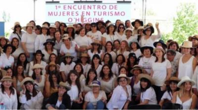 CHILE: Directora nacional de Sernatur encabeza exitoso Encuentro de Mujeres de Turismo de la Región O'Higgins