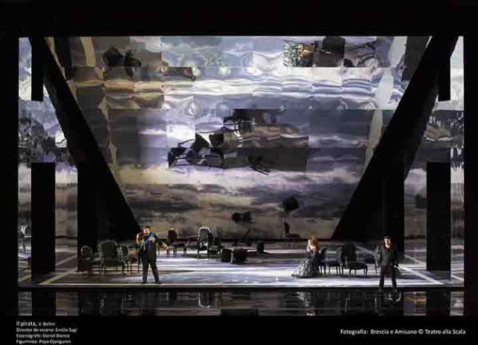 Il Pirata, de Vincenzo Bellini en el Teatro Real de Madrid
