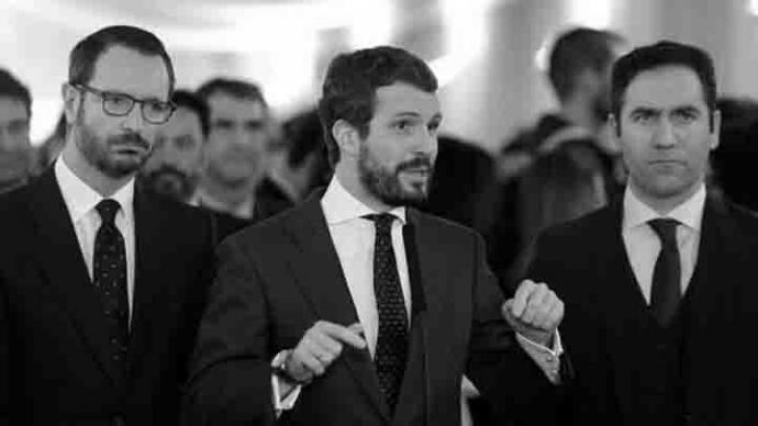 Casado cierra la puerta a Sánchez ante un virtual fracaso de las negociaciones con ERC