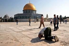 La explanada de las mezquitas es uno de los ejes centrales del conflicto