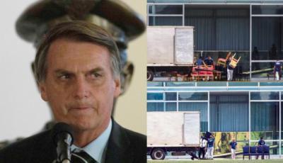 En su nueva residencia, el ultraderechista Jair Bolsonaro no quiere nada rojo a la vista