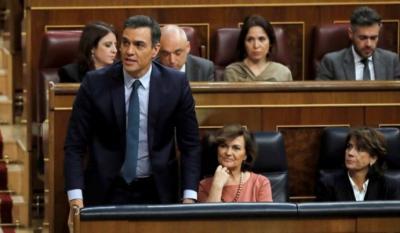 El Congreso rechaza la investidura de Sánchez al no lograr la mayoría absoluta